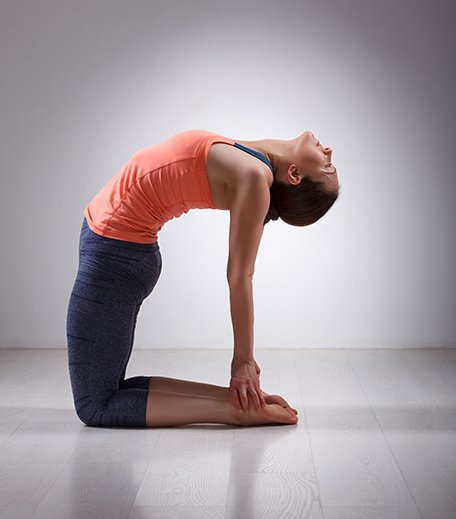 Camel Pose or Ushtraasana_Yoga For Inflexible_Hauterfly