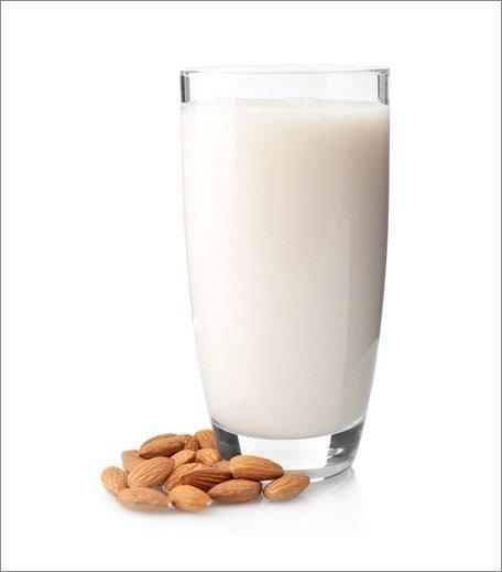 Almond milk for skin hair mask_Hauterfly
