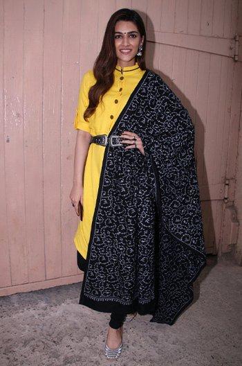 Kriti Sanon in Patine_Kriti Sanon desi styles_Hauterfly
