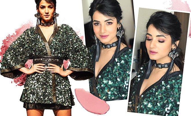 Sonal Chauhan makeup look