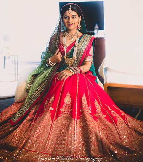 Bridal Lehenga Types_Hauterfly