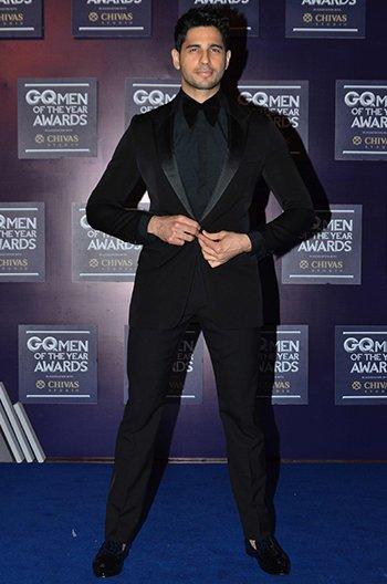 GQ Awards_Siddharth_Malhotra
