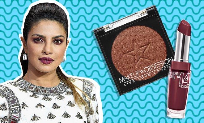 Priyanka Chopra Emmy 2017 makeup