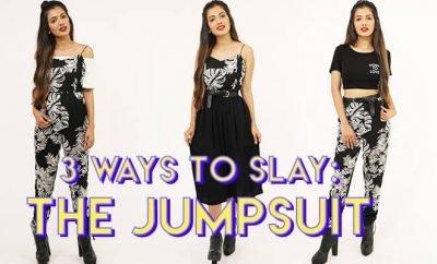Jumpsuit 3 Ways