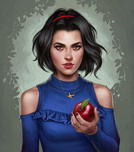 Snow White Disney Princesses Illustrations