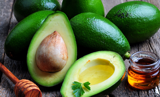 Avocado for inflamed skin