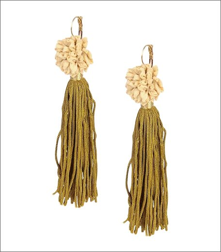 Chanderi Silk Danglers