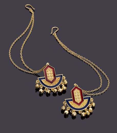 Rann Utsav Shubharambh Earrings Chain
