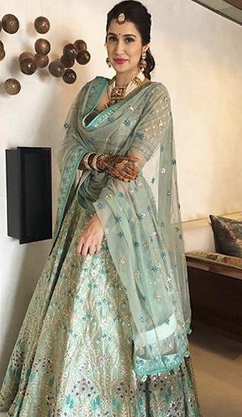 Sagarika Zaheer Khan Wedding_Hauterfly