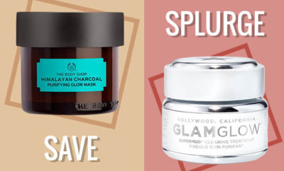 Glamglow Vs The Body Shop Mask_Hauterfly