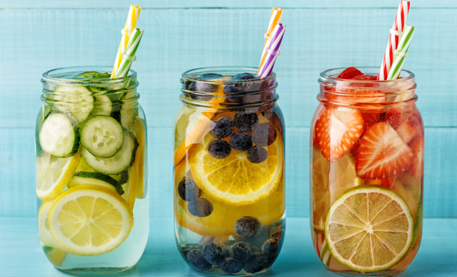 drink infused water