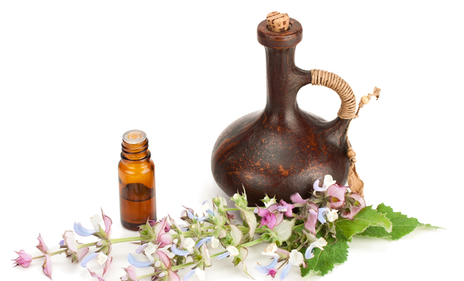 clary sage essential oil for hair