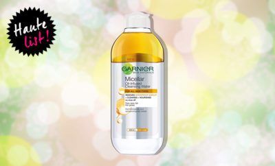 Garnier Skin Naturals Micellar Oil-Infused Cleansing Water_Featured_Hauterfly