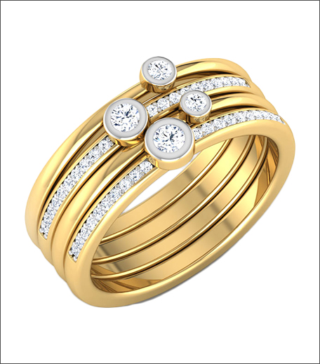 Stacked Rings Trend_Engagement Rings 2017_Hauterfly