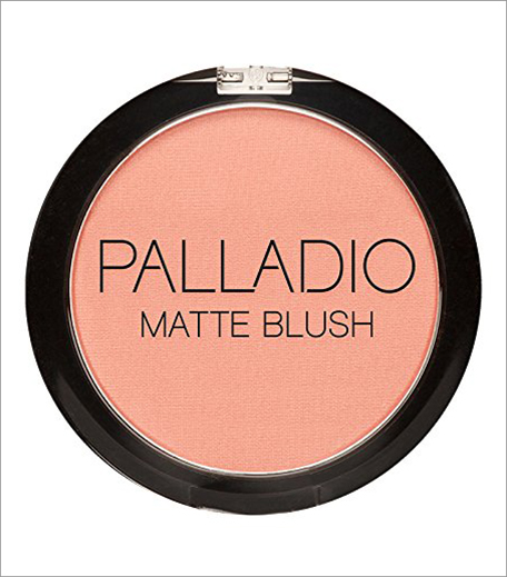 Palladio Herbal Matte Blush, Peach Ice