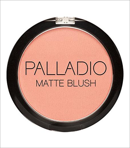 Palladio Herbal Matte Blush, Peach Ice