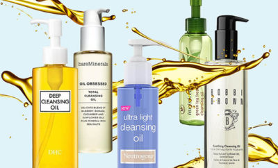 Cleansing Oils For Different Skin Types