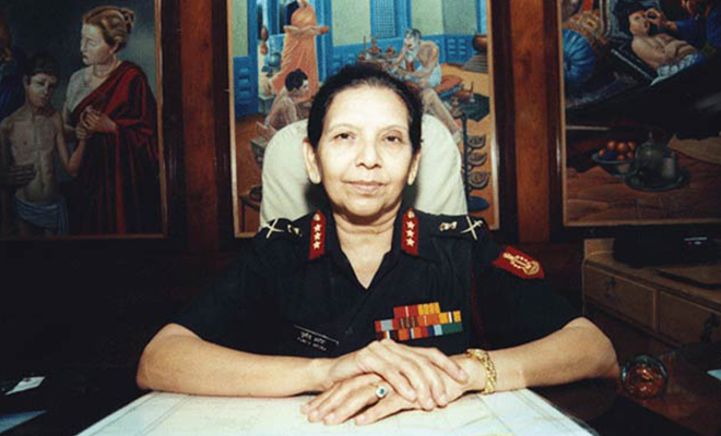 first woman lieutenant general