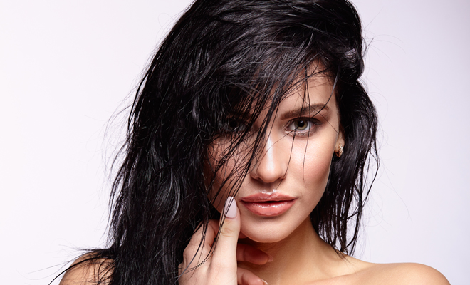 wet hairdos