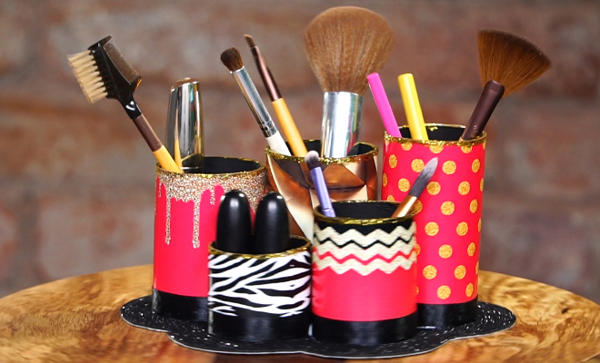 You have successfully created this beauty for your dressing table. Set to stock up all your makeup must-haves in makeup brush holder?