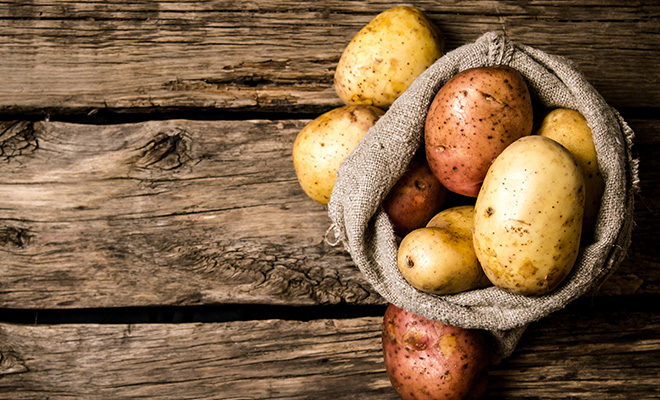 Food For Weight Gain - Potatoes
