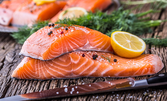 Food For Weight Gain - Salmon