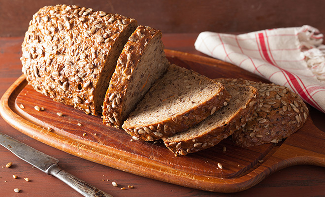 Food For Weight Gain - Whole Grain Bread
