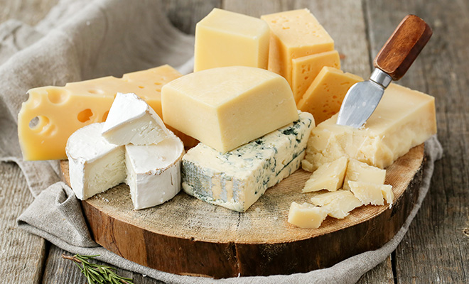 Food For Weight Gain - Cheese
