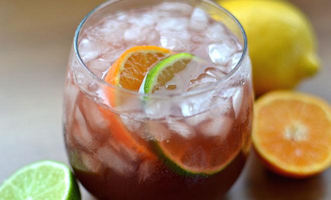 Valentine's Cocktails Sangria