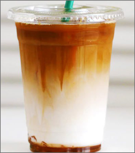 Iced Coffee Recipes - Caramel Macchiato