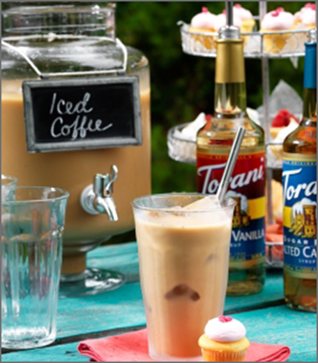 Iced Coffee Recipes - French Vanilla Iced Coffee