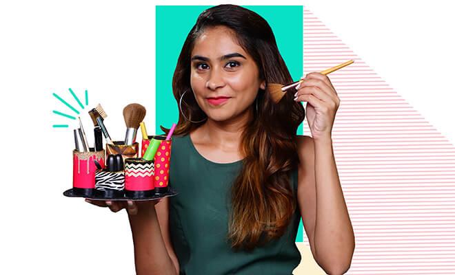 Website- DIY Makeup Brush Holder