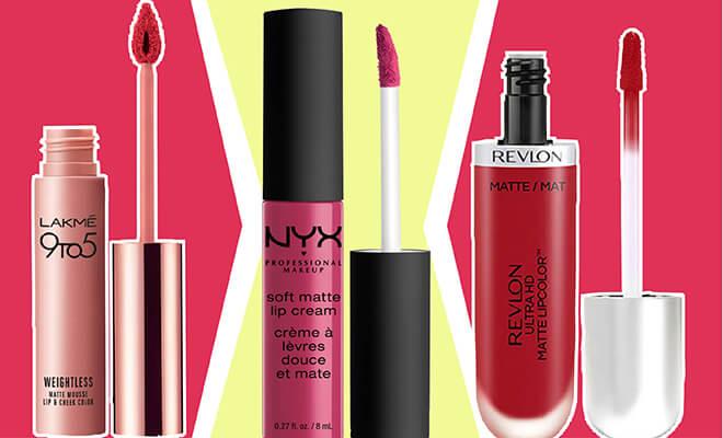 Website- Matte Lipsticks