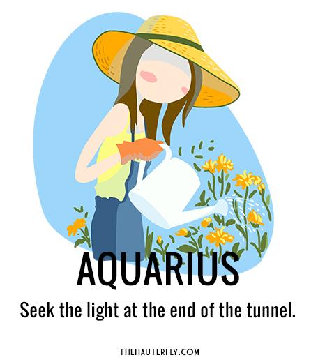 Aquarius March 25
