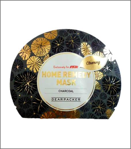 DearPacker Home Remedy Mask - Charcoal