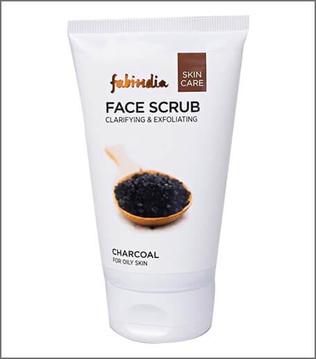 Fabindia Charcoal Face Scrub