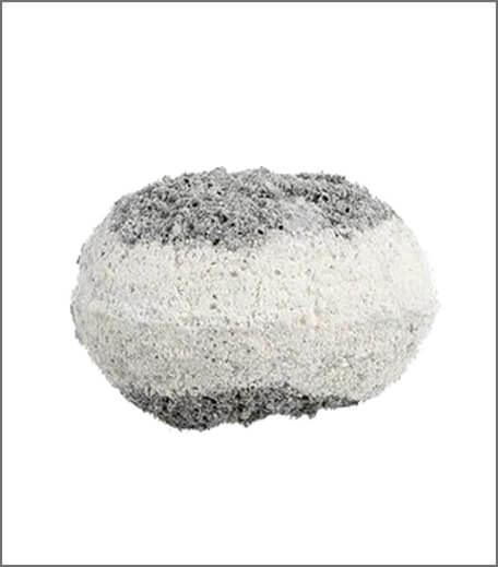 Tjori Charcoal Vanilla Bath Bomb