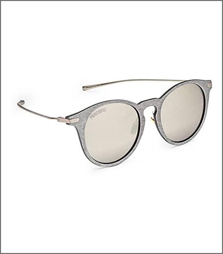 Ferdeko Silver color Medium Steely Jax Cat-eye Sunglasses for Unisex
