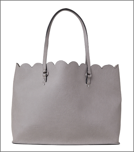 H&M Scallop-edged shopper