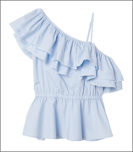 H&M One-shoulder blouse