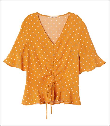 H&M Drawstring blouse
