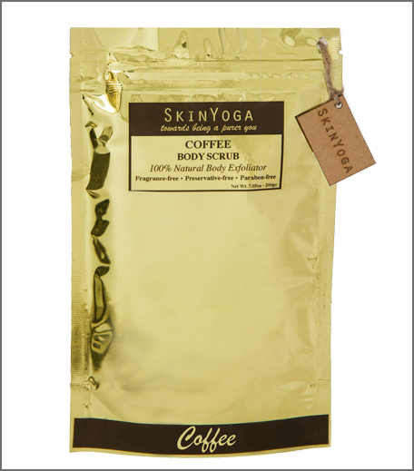 SkinYoga Coffee Body Scrub