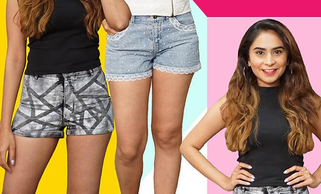 Website- DIY Embellished Shorts