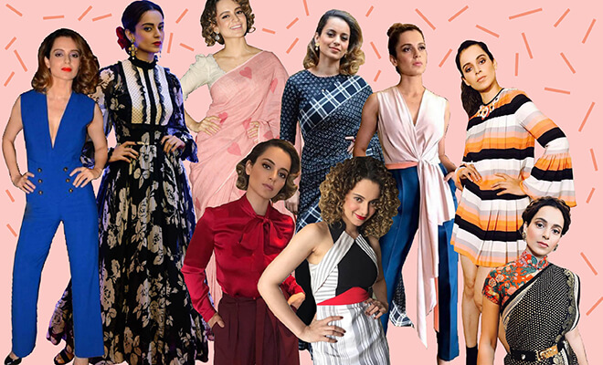 Kangana Ranaut's Fierce Fashion Choices