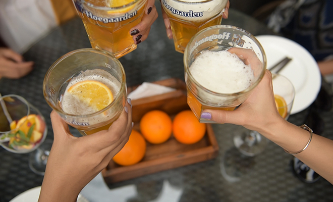 hoegaarden brunch