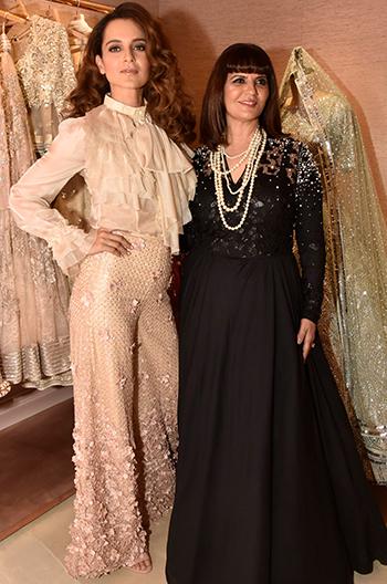 Kangana Ranaut with Neeta Lulla