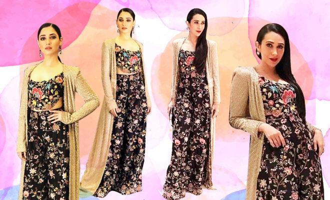 Karisma Kapoor Or Tamannaah Bhatia, Who Wore Anamika Khanna Better?