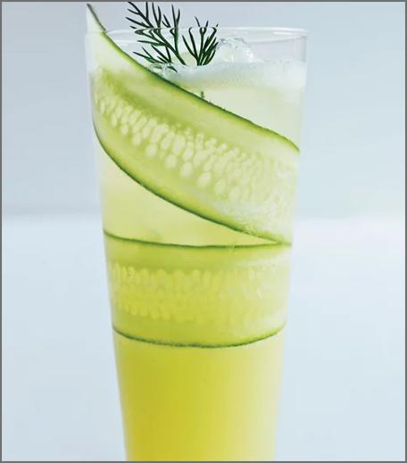 Inpost- food - brunch recepie for mother's day-cucumber lemonade