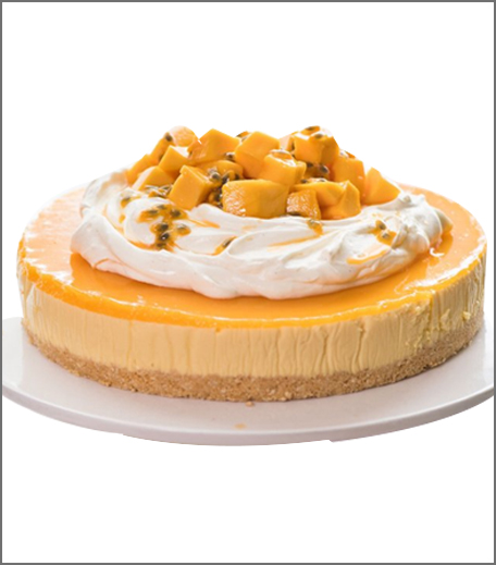 Inpost- food - brunch recepie for mother's day-mangocheesecake