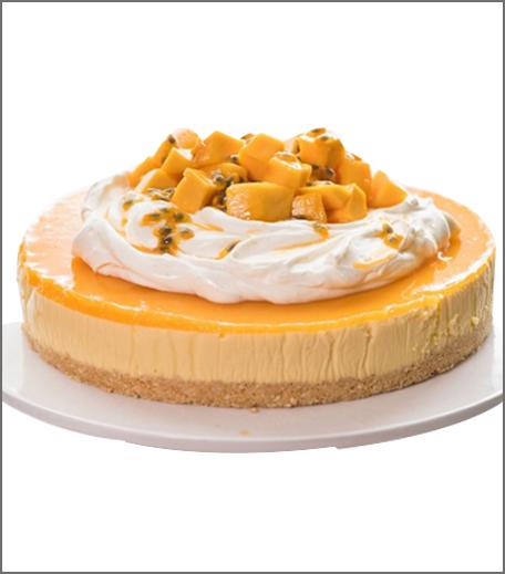 Inpost- food - brunch recepie for mother's day-mangocheesecake